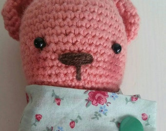 Amigurumi Golden bear crochet bear stuffed animal