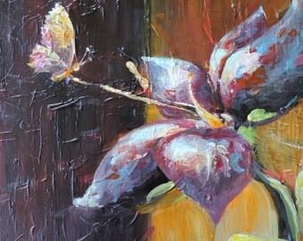 Flower and Butterfly / flower and Butterfly