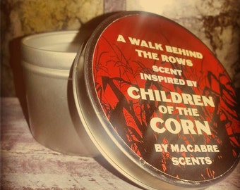 A Walk behind the Rows, 8 ounce candle