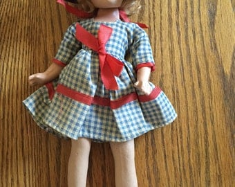 Old Little Red Riding Hood Doll