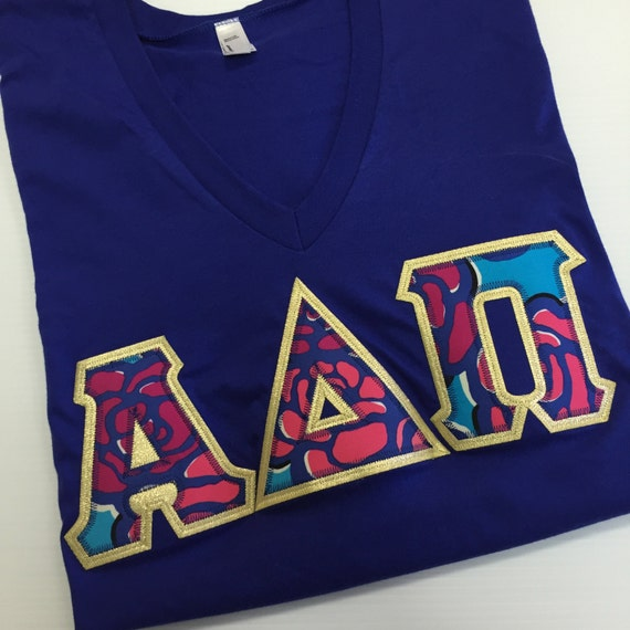 greek letter shirts sorority letter shirt lilly pulitzer 13929 | il 570xN.1044010586 hx5q