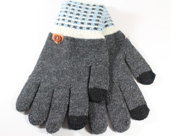 Men's Mixed Cotton Warm Gloves
