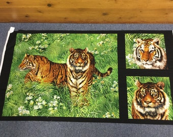 Tigers by Exclusively Quilters