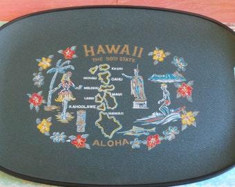 a beautiful tray Hawaii 1950 s Aloha!