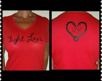Women's V neck shirt