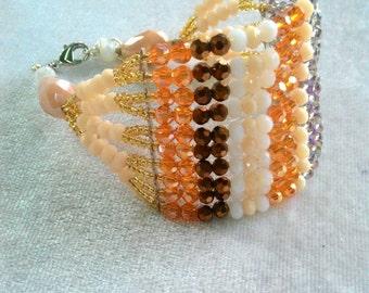 Ten strands bracelet