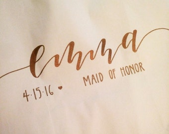 Personalized Wedding Party Gift Bags