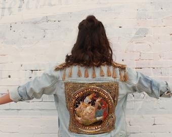 Handmade Jean Jacket