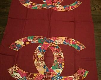 Chanel cc scarf