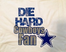 Dallas Cowboys//Die Hard Cowboys Fan Shirt
