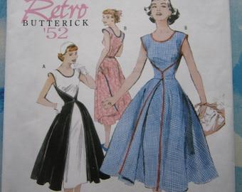 Butterick 4790 Reproduction 1952 Walk Away Dress Sewing Pattern 16-22