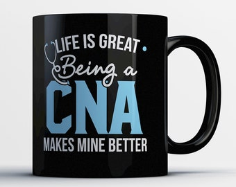 CNA Gift - Certified Nursing Assistant Mug - Awesome CNA Nurse Coffee Cup