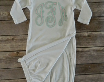 Personalized Baby Gown