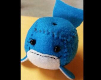 Adorable Little Cube Whale
