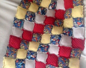 Bubble Rag Quilt-Throw