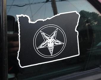 Penta-Oregon Sticker