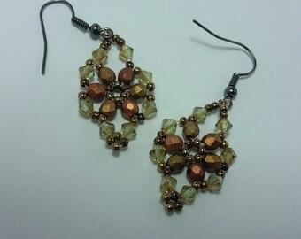 Earrings Beaded Jewelry accesories