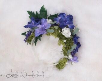 lilac dream flower headband