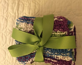 Baby Washcloths (Set of Three)