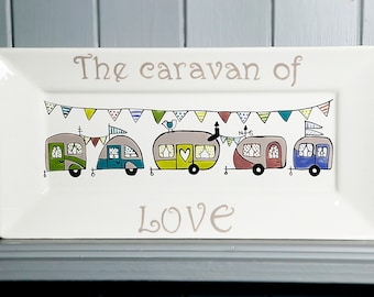 Caravan of love - Rectangle Plate
