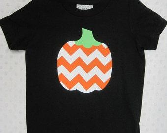 Girls Pumpkin Tee Shirt