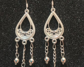 Sterling Silver Droplets