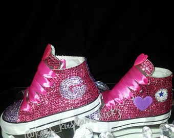 Toddler Custom Bling Shoes