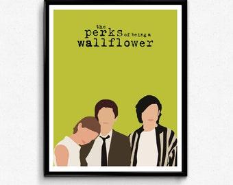 Perks of Being a Wallflower Movie Poster, Minimalist Print