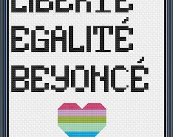 Liberty. Equality. Beyonce. PATTERN