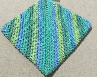 Extra thick variegated potholder