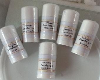 Deodorant- Natural- Handmade- Aluminum Free