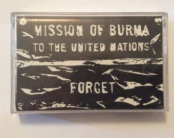 MISSION OF BURMA - Forget cassette (Roir!)
