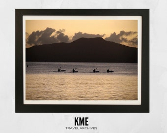 Takapuna Sunrise, New Zealand: Print 035