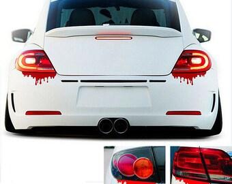 Bloody Zombie Drip Sticker Decal