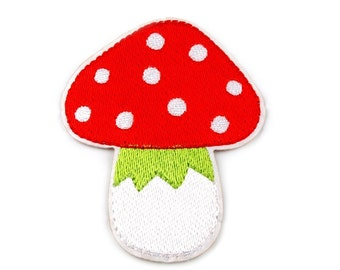 Toadstool Iron on Applique