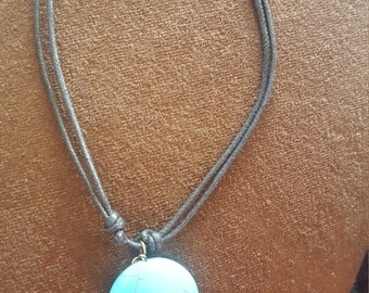 Hand made necklace made it Costa Rica