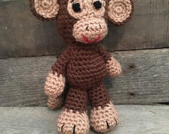 Crochet Amigurumi Monkey