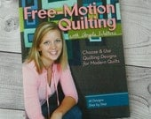 Free Motion Quilting with Angela Walters, book, quilting, modern quilts, machine quilting, learn, sewing, patchwork, modern quilting