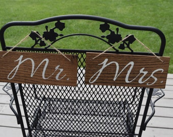 Reclaimed Wood, Pallet, Mr. & Mrs. Wedding Sign