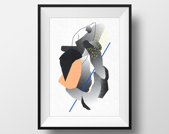 Instant download print #6 (abstract minimal style)