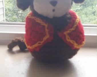 Crochet Monkey with Fez