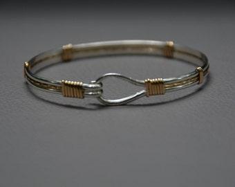 Silver and gold Darlin bracelet
