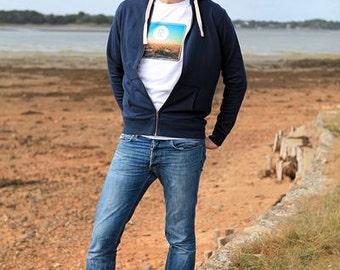 "T-Shirt organic man ""Joshua Tree Desert"" - spring sale"