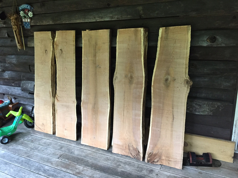 Live Edge Red Oak Slabs Tables Mantles
