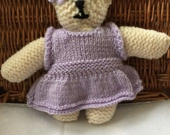 Hand knitted Bear