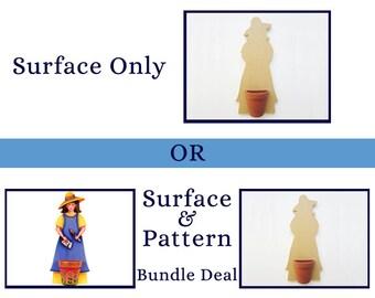 183 Garden Girl - Surface or Pattern Bundle