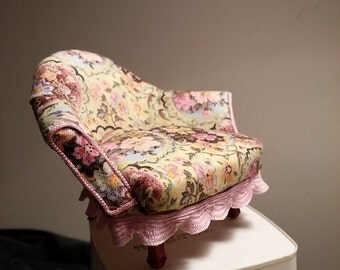 Miniature Upholstered Chair