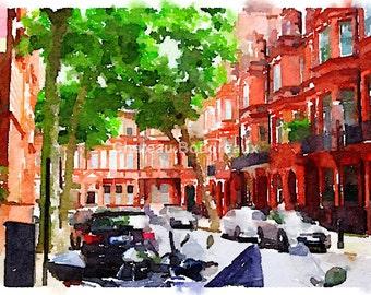 London Summer street