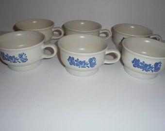 Vintage Pfaltzgraff Yorktowne Coffee Cups
