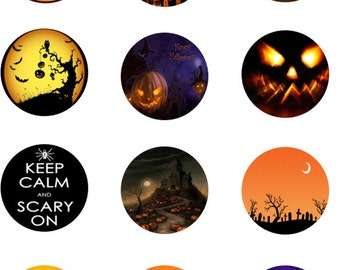 Halloween Scary Edible Images
